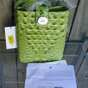 NWT Brahmin Avocado Green Marley Crossbody